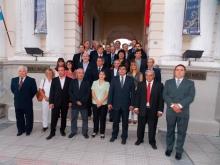 Domínguez presentó su gabinete