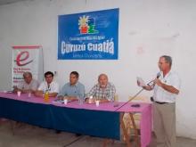 El Intendente  Domínguez se  reunió con vecinos