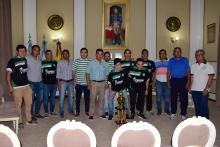 Las autoridades municipales recibieron a los campeones Sportivo Chaque Chaque