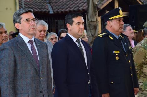 Desimoni agradeció al Intendente por el trabajo en conjunto de la Comuna con la Policía