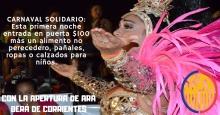 Carnaval solidario en Curuzú