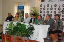 "José Irigoyen en la apertura las ""Ovinpiadas Correntinas"""