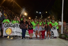 Más de 50 mil personas disfrutaron de los corsos curuzucuateños