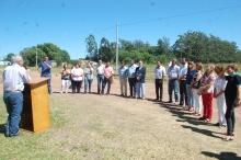 Inauguración de arbolado en calle Rotary
