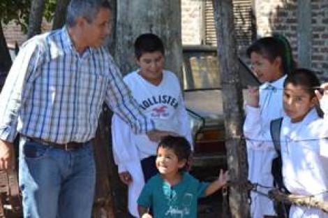 Materiales de Construcción para 17 familias del Porteño