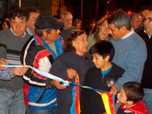 Dos cuadras más de pavimento inauguradas por calle Soler