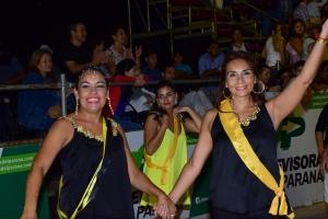 Multitudinaria tercera noche de carnaval curuzucuateño