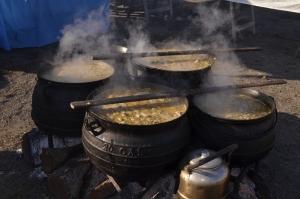 Exitosa primera jornada del Festival del Locro curuzucuateño