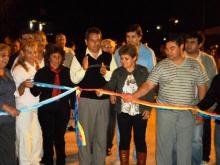 Se inauguró el pavimento de calle Castelli