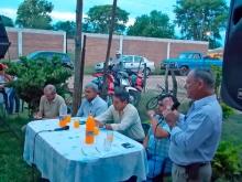 Reunión con vecinos del barrio Sarmiento