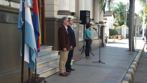 El Municipio conmemoró el Día del Himno Nacional Argentino