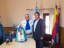 El Intendente Domínguez recibió a Ellero