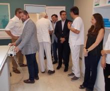 El intendente inauguró el Centro de Hemodinamia y Cardiología Intervencionista en el Sanatorio Curuzú