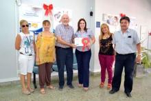 Se premió a los ganadores del Concurso Navideño