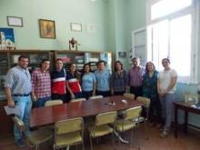 Entrega de premios a ganadores de la Estudiantina