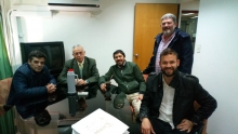Emotiva noche curuzucuateña en la casa de Corrientes en Buenos Aires