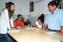 El Municipio asistió a Francisca González