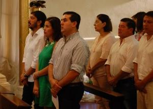 Presencia Municipal en la misa por la Paz