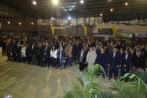 El intendente Irigoyen participó de la apertura de la Octava Edición de la Feria del Libro en Curuzú