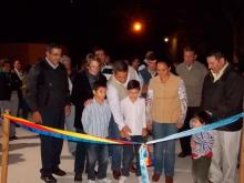 Inauguración de calle Belgrano al 300