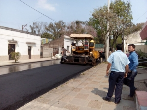 Corte de calle Castillo por obras de repavimentación