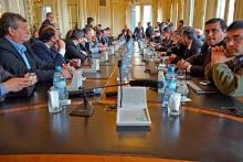 Domínguez integró la delegación de Intendentes en Buenos Aires