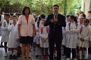 Irigoyen anunció continuidad del Boleto Estudiantil Gratuito con extensión para docentes