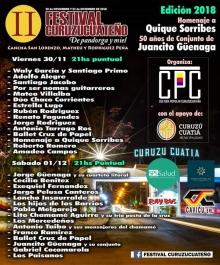 """Se viene el II Festival Curuzucuateño """"De Pandorga y Miel"""""""