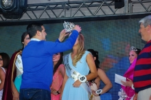 El intendente Irigoyen coronó a la nueva Miss Curuzú