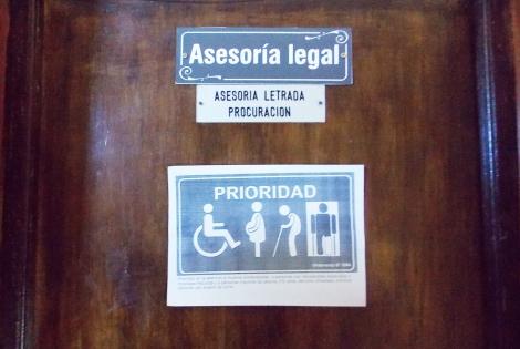 Comunicado institucional de la Asesoría Letrada de la Municipalidad