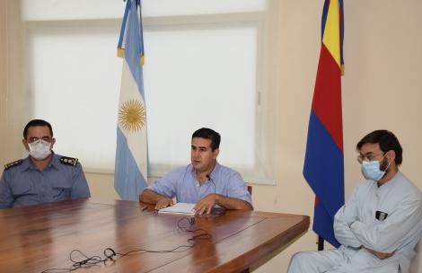 Irigoyen anunció nuevas medidas de aislamiento social preventivo