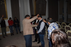 Pastores Unidos por Corrientes oraron por los gobernantes