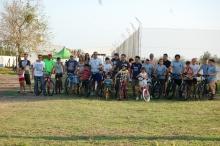Con una bicicleteada, el Municipio dio un fuerte mensaje de vida sana a la comunidad