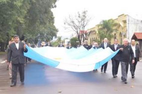 Traslado de la Bandera Nacional y Solemne Tedeum