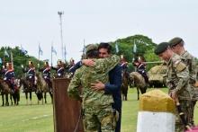 El Municipio presente en la ceremonia de finalización de gestión del Comandante de la Primera División de Ejército