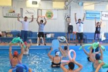Se inauguró la colonia de vacaciones para adultos mayores