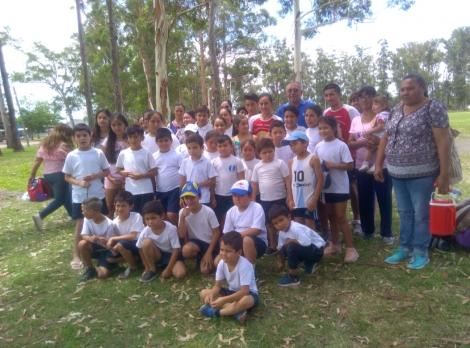 La Escuelita de iniciación deportiva participó del Chajá Corre 6,5km