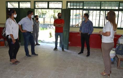 El Intendente supervisó las obras del CDI Mitaí Porá