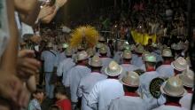 Una multitud disfrutó de la segunda noche de carnaval curuzucuateño