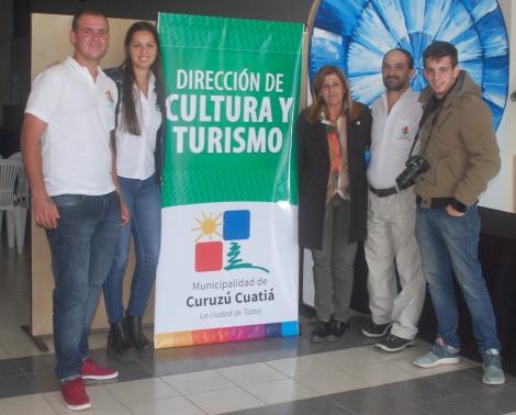 En Casa del Bicentenario promocionaron el Torneo de Pesca de Monte Caseros