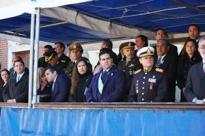 Palabras alusivas del intendente José Irigoyen en la celebración del Día de la Patria