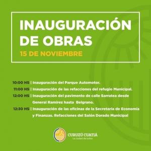 Inician hoy los actos oficiales en el marco de un nuevo aniversario de la ciudad