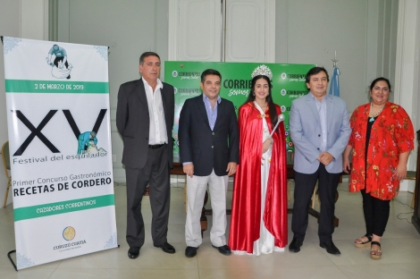 Se realizó la presentación oficial del 15º Festival del Esquilador, de Cazadores Correntinos