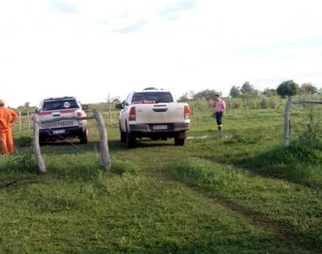 El intendente asistió a pobladores rurales que quedaron sin agua potable