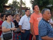 El Municipio acompañó la nutrida concurrencia de las Patronales de Santa Lucía