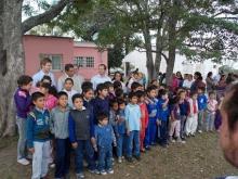 Entrega de Guardapolvos a escuelas rurales