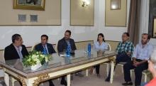 El intendente Irigoyen recibió al gobernador del Rotary Distrito 4845 Miguel Ángel Cruz
