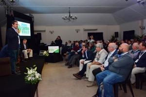 El intendente Irigoyen participó de la apertura del Segundo Seminario de Caminos Rurales