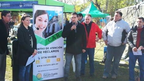 El intendente José Irigoyen inauguró el Centro de Atención de Reclamos (CAR)