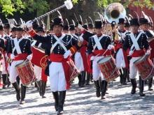 """Por desperfectos mecánicos, la Banda Militar del Regimiento """"Patricios"""" llegará a Curuzú recién esta tarde"""
